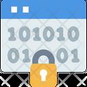 Encryptionv Binary Encryption Binary Icon