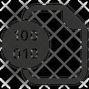 Binary File Icon