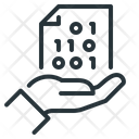 Data Base Hand File Icon