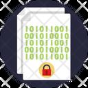 Binary File Document File Icon