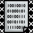 Binary Concept Code Icon
