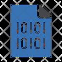 Binary File Binary File Icon