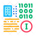 Binary Information Icon