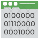 Binary Interface Icon