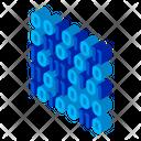 Binary Code Stream Icon