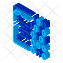 Binary Code Computer Icon
