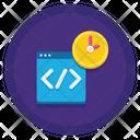 Binary Language Hackathon Business Icon