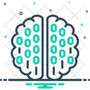 Binary Mind Icon