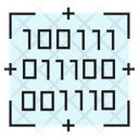 Binary Number Binary Code Security System Icon