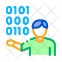 Binary Programmer Icon
