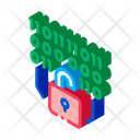 Binary Security Code Icon