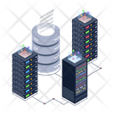 Storage Racks Server Room Binary Storage Icon