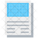 Binary Sheet Icon