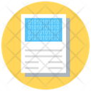 Binary Sheet Icon