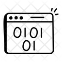 Binary Web Icon