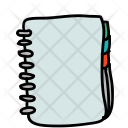 Binder Diary Notes Icon