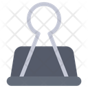 Binder Clip Bulldog Icon