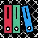 Files Binder Document Icon