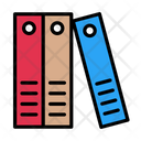 Archive Binder Files Icon