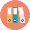 Binders File Folders Icon