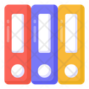 Folders Files Binders Icon