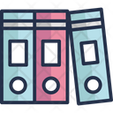 Binders File Folders Files Icon