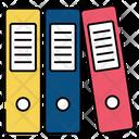 Books Files Folders Icon