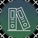 Binders Files Folders Icon