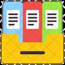 Binders Drawer Files Drawer Documents Drawer Icon
