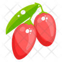 Cherries Fruit Healthy Food Icon