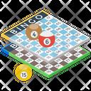 Bingo Lottery Game Casino Icon