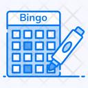 Bingo Game Keno Game Lotto Game Icon