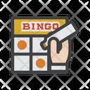Bingo Bingo Cards Game Icon