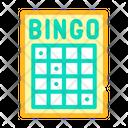 Bingo Card Color Icon