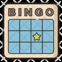 Bingo Bingo Card Card Game Icon