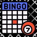 Bingo Game Activity Icon