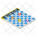 Bingo Board Game Icon