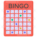 Numbers Game Bingo Game Gaming Icon