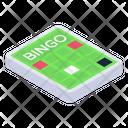 Lotto Game Bingo Game Board Game Icon