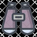 Binocular Watch Glass Icon