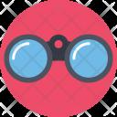Binocular Telescope Explore Icon