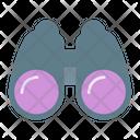 Binocular Binoculars Find Icon