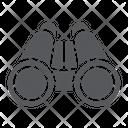 Binoculars Optical Zoom Icon