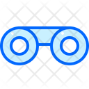 Binoculars Glass Zooming Icon