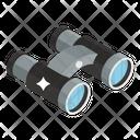 Binoculars Spyglass Field Glasses Icon