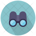 Binoculars Front View Icon