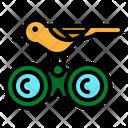 Binoculars Birdwatching Hobby Icon