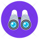 Binoculars Zoom View Icon