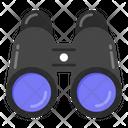 Binoculars Field Glasses Spyglass Icon