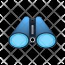 Binoculars Information Analysis Find Icon